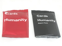 Wholesale 2014 Christmas Cards Against Humanity for Horrible People Party Game Holiday Pack Reject Pack House Pack