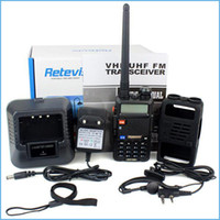 Wholesale Hot Lowest Price Walkie Talkie RETEVIS RT R W CH UHF VHF DTMF Two Way Radio