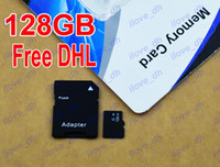 TF / Micro SD Card 128GB 50pcs 128GB Micro SD Card Class 10 128 gb Micro SDHC TF Memory Card OEM ODM free adapter for Samsung iphone 6 Smartphones tablet ilove_dh 50pcs