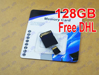 TF / Micro SD Card 128GB 100pcs 128GB Micro SD Card Class 10 128 gb Micro SDHC TF Memory Card OEM ODM free adapter for Samsung Smartphones tablet ilove_dh 100pcs