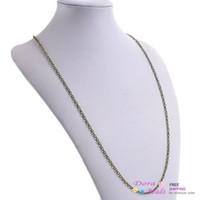 """Chains Gold B26388 Ball Chain Necklaces Antique Bronze 76.2cm long(30""""),12PCs (B26388)"""
