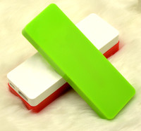 Power Bank External Portable Battery Universal USB to micro USB New 4000mAh Power Bank Apple style smooth Polymer colourful Portable External Battery Charger for Iphone 4 4s 5 5s Samsung Galaxy s4 s5 etc