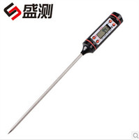 Wholesale good quality Digital Cooking Food Probe Meat Household Thermometer Kitchen BBQ Buttons TP101