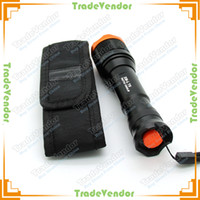 Wholesale XM L T6 Lumens mode Zoomable Led Flashlight Torch Rechargeable Battery Charger Holster