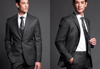 Reference Images dress suit for men - 2014 New Custom Made Black Groom Wear Wool Suit The Groom Dresses For Men Wedding Men s Suits Groom Tuxedos Formal Men s Wedding Suits Cheap