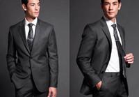 Wholesale 2014 New Custom Made Black Groom Wear Wool Suit The Groom Dresses For Men Wedding Men s Suits Groom Tuxedos Formal Men s Wedding Suits Cheap