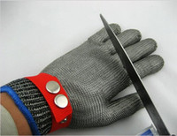 Wholesale New Arrival Stainless Steel Safety Cut Proof Protect Glove Metal Mesh Butcher Tools Supplies Good Quality