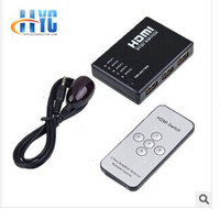 USB 1.1 hdmi selector - 5X1 Port HDMI Switch Switcher Selector Splitter Hub W Remote for HDTV PS3
