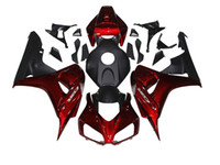 Injection Mold abs fittings - Injection Fairings For Honda CBR1000RR CBR1000 RR ABS Plastic Motorcycle Fairing Kit Cowlings Body Fittings Red Pearl Black