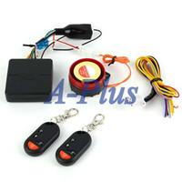 Wholesale New V Motorcycle Alarm System Anti theft Security Alarm motorbike Remote Control Engine Start Smart Powerful db B2