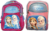 Wholesale Frozen Backpack Bags Children s School Bag Student Book Bag For Girls Cartoon Shoulders Backpacks L size by DHL