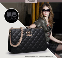 Wholesale elegant European and American style designer handbags made in china brand imitations handbags with metal labels