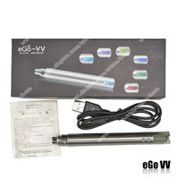 Top Quality eGO VV V2 eGo- V Variable Voltage LCD Battery 650...