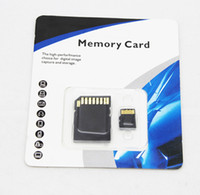 Wholesale real gb gb gb gb gb tf card memory card micro sd card with adapter retail packaging