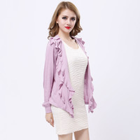 Wholesale Classic Cotton Knitted Sweater Cape Pleated Draped Open Front Cardigan Women Plus Size Cloak Coat tm25 Highest New Fashion