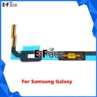 For Samsung   Wholesale Q0372 - 50pcs lot Samsung Galaxy Mega 6.3 i9200 i9205 i527 Home Connector Sensor Key Flex Cable - Free DHL Shipping