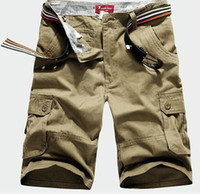 Wholesale Hot Sale Summer Men s Army Cargo Work Casual Bermuda Shorts Men Fashion Sports Overall Squad Match Trousers Plus size Short color