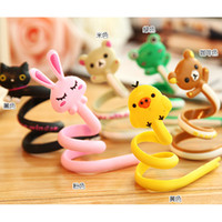 Wholesale Cartoon Animals Wire Manager Earphones Organizer Cable Winder Cord Router SH773