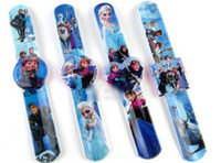 Wholesale Hot Frozen Children PAPA watch Simple electronic watche Frozen Anna Elsa olaf watch