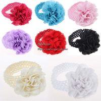 Wholesale Crochet Headbands Hair Flowers Hair Accessory Hair Things Children Hair Accessories Kids Baby Headbands Childrens Accessories Girl Headbands