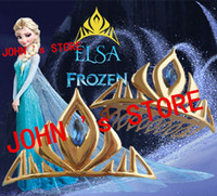 Wholesale Freeshipping a Frozen Elsa Coronation crown DHJZJE04