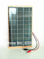 10w solar panel - W V polycrystalline very slim solar panel for outdoor Diy Car Boat charger407