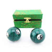medical packaging - Package mail Chinese elements finger mm ball medical fitness baoding handball cloisonne