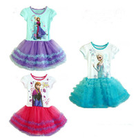 TuTu Summer cake dress Wholesale - the best stock price highest frozen children children's clothing cotton lace tutu skirt girl baby clothes