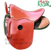 Wholesale Horse belt armrest genuine leather saddle son saddleries full
