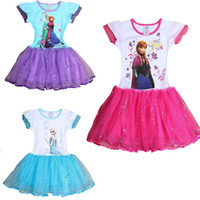 Cheap TuTu Children cotton dress Best Summer cake dress Girls Princess Dress