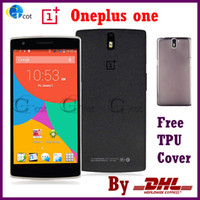 Wholesale OnePlus One Plus One FDD LTE G android cell Phones quot P Snapdragon GHz RAM GB GB WCDMA Android NFC