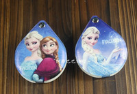 Wholesale free shpping new frozen Snow and ice colors Mirrors Aisha princess PU double sided mirror