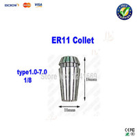 cnc - Free ship ER11 cnc collet cutter holder for cnc engraving machine mm and also have drill bits