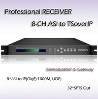Wholesale RFR1132 Eight Channel Professional Receiver asi input