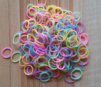 Clasps & Hooks rubber bands Halloween scented pastel glow in the dark solid color 600PCS BAG colorful rainbow LOOM BANDs refill rubber bands latex free twist rubbbandz