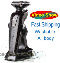 Wholesale In Store More Fast Delivery d Washable Rechargeable Beard Shavers Electric Shaver For Men Heads Razor Trimmer