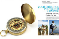 Wholesale Fashion Hot Classic Pocket Watch Style Bronzing Antique Camping Compass For Outdoor activities