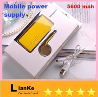 Power Bank other  5600 mah 5600mah Fragrance Perfume Portable Power Bank Emergency External Universal Battery Charger for Iphone 4 4S 5 5S 5C 5G Galaxy S4 S3