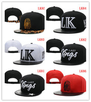 Red snapback wholesale - Hot more style Hater snapbacks caps hip pop sport caps team logo last TMT snapback hats the best price czl