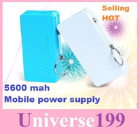 Power Bank other  5600 mah 5600mah Fragrance Perfume Portable Power Bank Emergency External Universal Battery Charger for Iphone 4 4g 5 5g Galaxy S4 S3