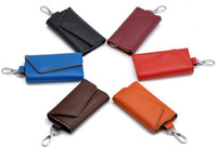Wholesale Genuine Leather Key Wallets Men Card Case Car Key Bag Unisex Drop Shipping BB024 Z8Z