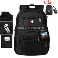 Wholesale Laptop bag SWISSLANDER bags Notebook school business backpack Men Women Fashion Brand New D Nylon Waterproof hot