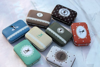 Wholesale New Sen Arrivals secret tin storage box small tin iron case storage case tin box