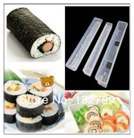 Stainless Steel ECO Friendly Sushi Tools Sushi Long Roll Rice Maker Japanese Mould Roller Bento Mold DIY Kitchen Tool