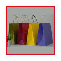 Paper Hand Length Handle Yes Free Shipping 30pcs lot 25cm*25cm*13cm Kraft Paper Gift Bag Festival Gift Bags Paper Bag With Handles Wholesale