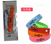 Wholesale DHL Shipping GREENLUCK Summer Mosquito Bracelet Repellent Band Camping Killer Bangle Wristband