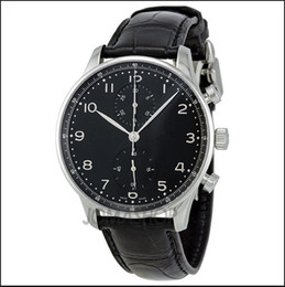 Hot sell Top brand Men watch Luxury Mens quartz chronograph wristwatch leather band stopwatch W25
