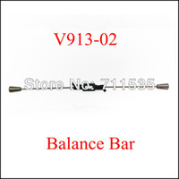 Wholesale V913 Flybar Rod Balance Bar Stabilizer Bar Spare Parts For WLTOYS Alloy V913 G CH Gyro Remote Control RC Helicopter407