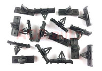 Wholesale 100xNylon Fender Flare amp Rocker Moulding Clips For Jeep JK Wrangler AA