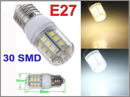X100 E27 LED Light E14 GU10 G9 B22 Office Bulbs Corn Bulb 5050 SMD 5W 6W 9W 12W 15W 48 LEDs 1450LM With Cover indoor Lamp Warm White By DHL